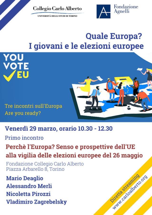 Locandina primo incontro Quale Europa _