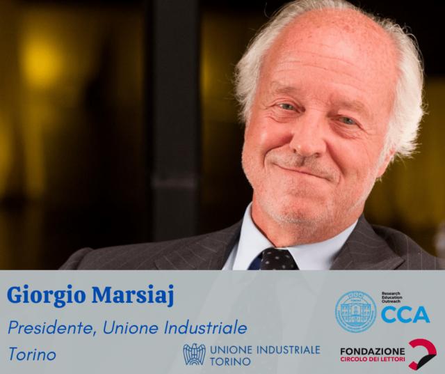 Giorgio Marsjai, Unione Industriale