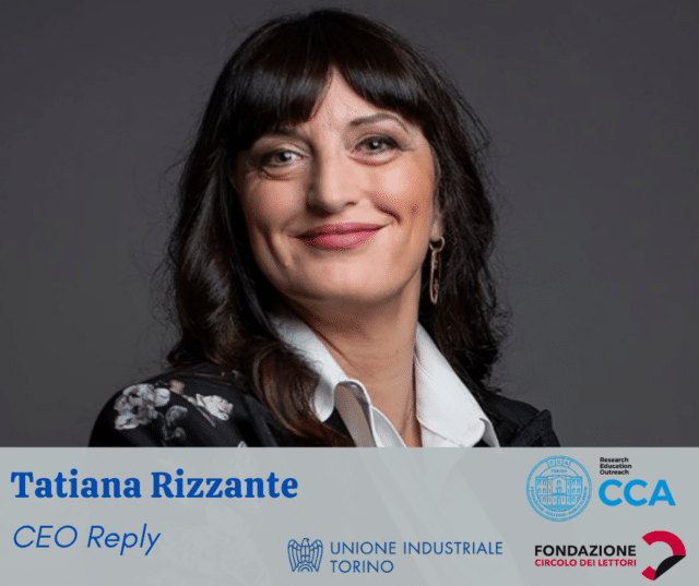 Tiziana Rizzante, Reply