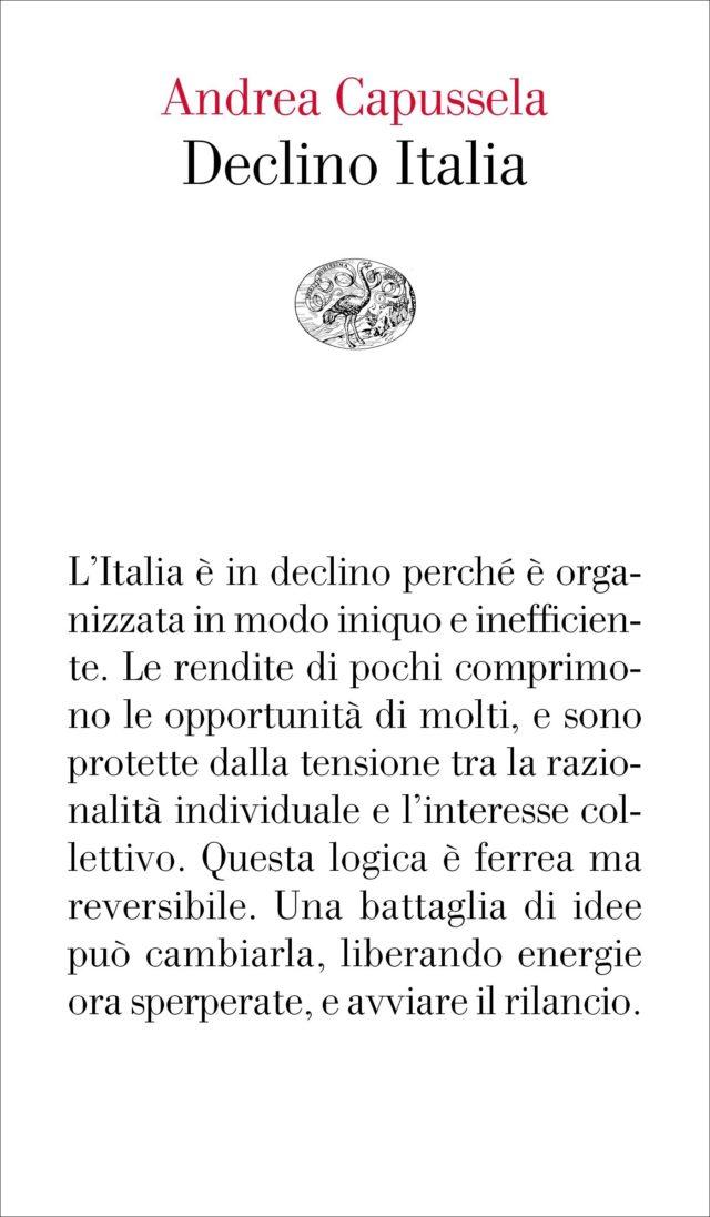 cover libro Capussela